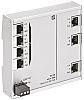 HARTING Ethernet Switch, 7 RJ45 port, 54V dc,