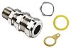 Kopex-EX Brass M32 Cable Gland Kit