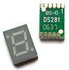 HDSM-283C Broadcom 7-Segment LED Display, CC Red 7.5