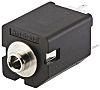 Amphenol PCB Mount Stereo Jack Socket, 5Pole 10A