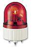 Schneider Electric XVR Red LED Beacon, 12 V ac/dc, Rotating, Base Mount