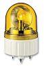 Schneider Electric XVR Amber LED Beacon, 12 V ac/dc, Rotating, Base Mount