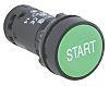 Schneider Electric, Harmony XB7 Non-illuminated Green Round Push