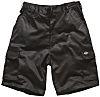 Dickies Redhawk Black Men's Cotton, Polyester Shorts Waist