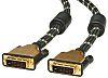 Roline Dual Link DVI-D to DVI-D Cable, Male