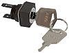 Omron 2 Position Key Key Switch - (DPDT)