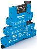 Finder 6 A SPNO Interface Relay Module, DC, DIN Rail, PLC, 24 V dc Maximum Load