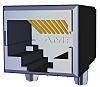 TE Connectivity, 5558341, Female Cat5e RJ45 Socket