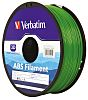 Verbatim 1.75mm Green ABS 3D Printer Filament, 1kg