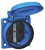 ABL Sursum Blue 1 Gang Plug Socket, 16A,