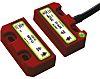 Interruptor de seguridad IDEM 405004, SPF-RFID-U, IP67, 50 x 25,5 x 13 (actuador) mm, 50 x 25,5 x 13 (conmutador) mm,