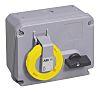 ABB Horizontal Switchable IP67 Industrial Interlock Socket 2P+E,