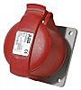 ABB, CMA IP44 Red Panel Mount 3P+E Industrial