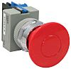 Idec Red Round Push Button, 22mm Push Pull