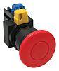 Idec, IDEC HW Non-illuminated Red Mushroom Push Button,