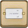 Gold 10 A Flush Mount 3-Pole Fan Isolator