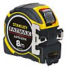 Stanley FatMax 8m Tape Measure, Metric, With RS Calibration
