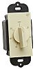 Ivory 20 A Wall Mount Rotary Light Switch