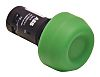 ABB, Compact Non-illuminated Green Round Push Button, 22mm
