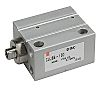 SMC Pneumatic Multi-Mount Cylinder CUJ Series, Double Action,