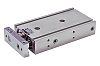 SMC Pneumatic Guided Cylinder 20mm Bore, 25mm Stroke,