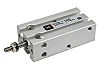 SMC Pneumatic Multi-Mount Cylinder CU Series, Double Action,