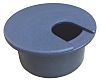 RS PRO Grey Desk Grommet 80mm Panel Hole