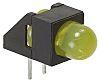 Broadcom HLMP-4719-A00B2, Yellow Right Angle PCB LED Indicator