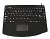 Ceratech Touchpad Keyboard Wired USB Medical, QWERTY (UK)