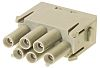 HARTING Han-Modular Heavy Duty Power Connector Module, 6