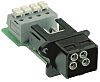HARTING Push Pull 0946 Series PCB Mount Connector,