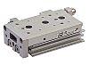 SMC Slide Unit Actuator Double Action, 25mm Bore,