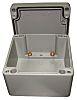 RS PRO Grey Die Cast Aluminium Enclosure, IP66, 400 x 310 x 110mm