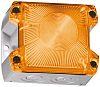 Pfannenberg PY X-S-05 Amber Xenon Beacon, 230 V ac, Flashing, Panel Mount