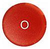 Eaton Momentary Button Lens - 22mm Cutout Diameter,