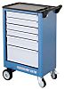 Gedore 6 drawer ABS WheeledTool Chest, 930mm x