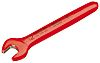 Gedore 17 mm Single Ended Open Spanner Insulated