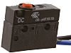 SPDT Button Microswitch, 10 A @ 250 V