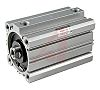 SMC Pneumatic Compact Cylinder 12mm Bore, 10mm Stroke,