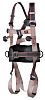 JSP FAR0204 Front, Rear, Sides Attachment Safety Harness ,Universal