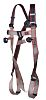 JSP FAR0203 Front, Rear Attachment Safety Harness ,Universal