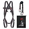 JSP Fall Arrest Kit with Draw String Bag, Harness, Lanyard
