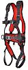 JSP FAR0402 Front, Rear, Sides Attachment Safety Harness ,Universal