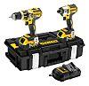 DeWALT DEWDCZ276P2-XE, 18V Cordless Power Tool Kit