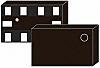 ON Semiconductor FSA832L10X, USB Power Switch, Isolation, 6Ω,