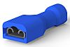 TE Connectivity Blue/Clear Insulated Spade Connector, 4.75 x