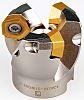 Pramet 19° Face Mill 80mm, Diameter, 5, Pieces