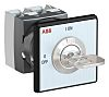 ABB, SPST 2 Position 90° Rotary Switch, 25A