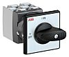 ABB, 4PST 2 Position 90° Rotary Switch, 25A