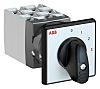 ABB, DPST 4 Position 30° Rotary Switch, 400